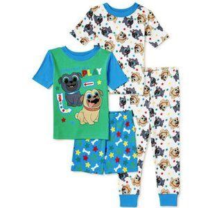 NWT 3T O 4t 4 Puppy dog pals spring summer pajamas